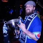 Paul Sabourin-Hertzog and his good friend the Cascadia Cup