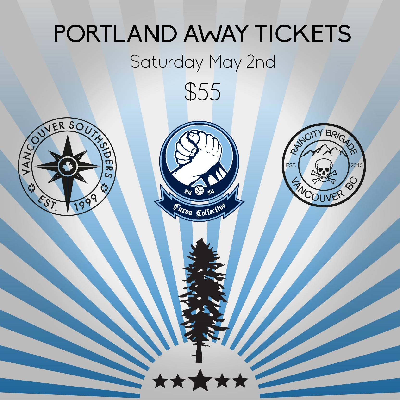 Cascadia Away, May 2nd, 2015