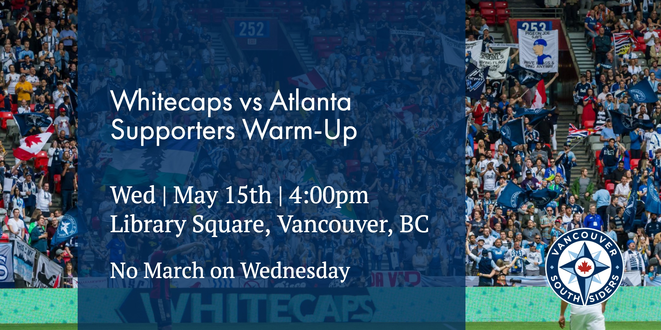 Whitecaps vs Atlanta, Wednesday, May 15th